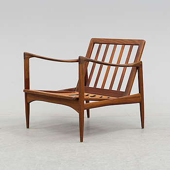 An 1960´s teak frame for an easy chair by Ib Kofod Larsen.