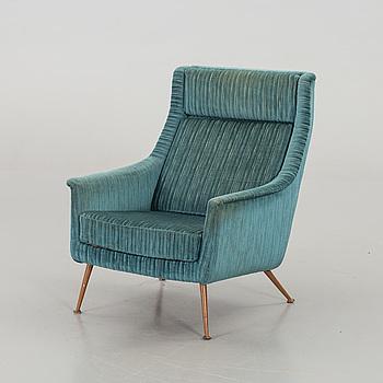 FOLKE OHLSSON, fåtölj, 'Gothia, hög' Dux, formgiven ca 1954.