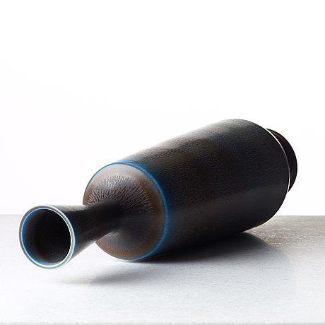 Berndt friberg, a stoneware vase, gustavsberg studio, sweden 1968.