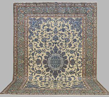 A CARPET, Kashan, around 450 x 315 cm.