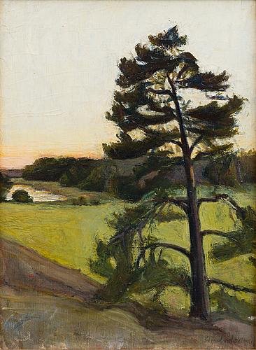 Sigrid schauman, landscape from Åland islands (Önningeby).