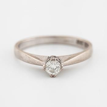 A brilliant cut diamond ring by ÖRN, Göteborg, 1977.