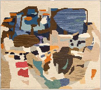 INGEMAR CALLENBERG, tapestry, flat weave, signerad I. Callenberg. Around 121 x 138 cm.