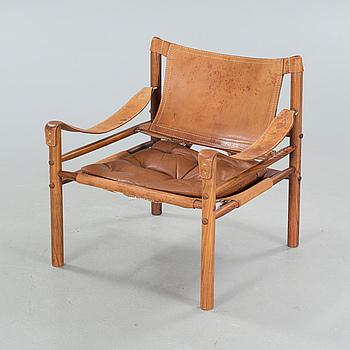 """a """"Sirocco"""" chair, second half of the 20th century. CITES certificate."""
