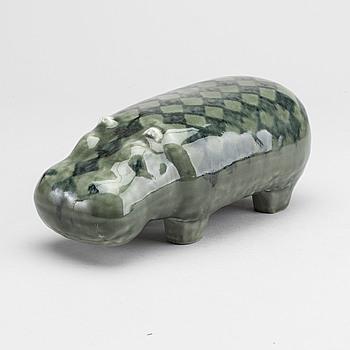 "LISA LARSON, LISA LARSON, stoneware figurine from ""Stora Zoo"", Gustavsberg."