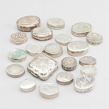 DOSOR 20 st silver 18/1900-tal.