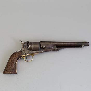 SLAGLÅSREVOLVER, Colt 1860 Army.