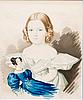Charles de hampeln, flicka med docka