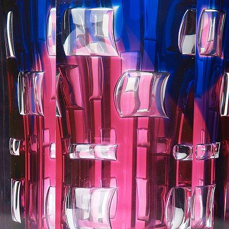 "Olle alberius, vas, ariel, ""komposition"", orrefors 1988."