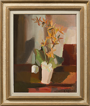 FRITHIOF BERGLUND, oil on panel, signed and dated 44.