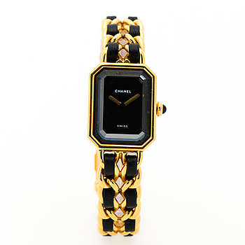 CHANEL, Premiere, armbandsur, 26 x 20 mm.