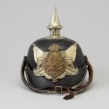 KASK, svensk, m/1887 för Livgardet.