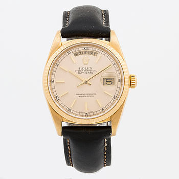 ROLEX, Oster Perpetual, Day-Date, armbandsur, 36 mm,