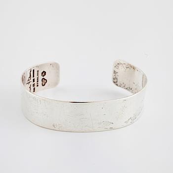 WIWEN NILSSON, armring, sterling silver, Lund 1961.