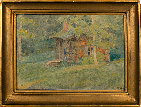 Maria wiik, forest cottage