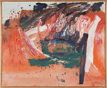 CARL-OTTO HULTÉN, CARL OTTO HULTÉN, oil on canvas. Signed CO Hultén and dated 1962.