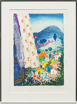 LENNART JIRLOW, färglitografi, signerad och numrerad 236/285.