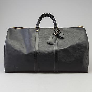 "VÄSKA, ""KEEPALL 55 Epi"", Louis Vuitton."