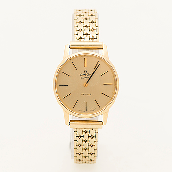 OMEGA, De Ville, armbandsur, 24 mm.