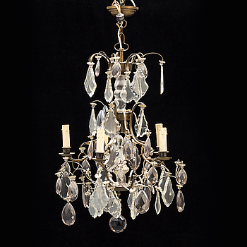 A 20th century chandelier.