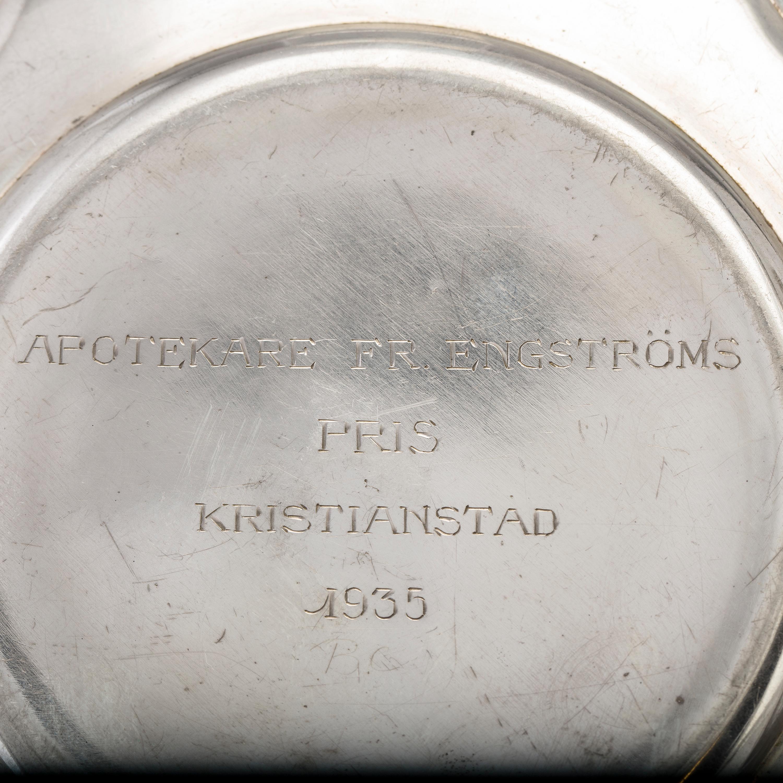Three Swedish silver plates, 1913-36  - Bukowskis