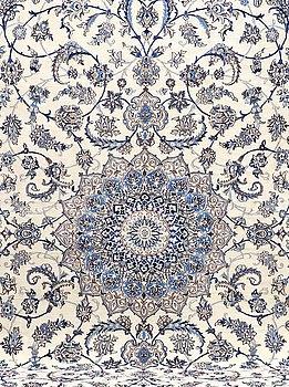 MATTA, Nain, part silk, s.k 9 LAA. Ca 400 x 287 cm.