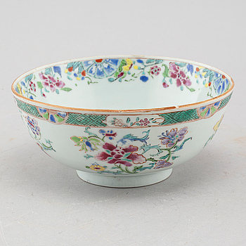 SKÅL, porslin, Kina, 1700-tal.