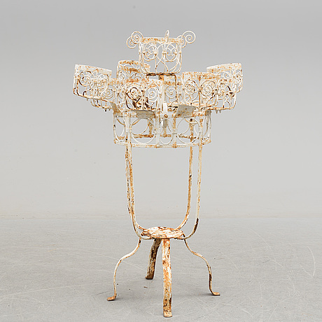A flower table, probably france, 20th century