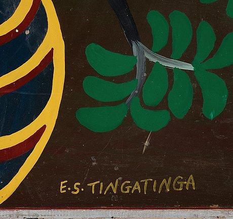 Edward saidi tingatinga, untitled.