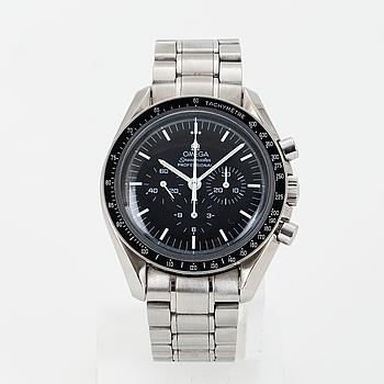 "OMEGA, Speedmaster, Professional, ""Tachymètre"", chronograph, wristwatch, 42 mm."