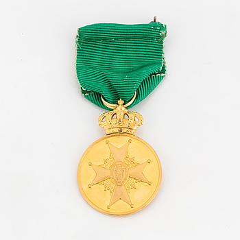 VASAMEDALJEN, guld, Sverige, 1900-talets mitt.