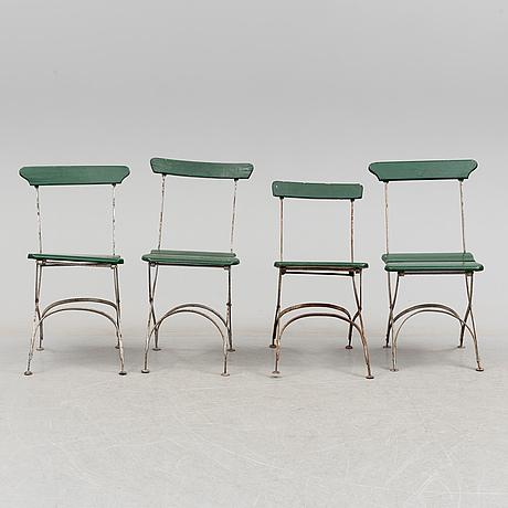 Stolar, 4 st, 1900 talets första hälft