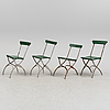 Four first half of the 20th century chairs