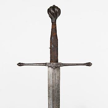 SVÄRD, en och en halv hands, Tyskland, 1500-talets första hälft.