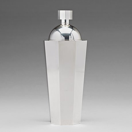 Wiwen nilsson, a sterling cocktail shaker, lund 1960.