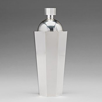 145. Wiwen Nilsson, a sterling cocktail shaker, Lund 1960.