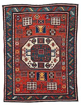 213. A RUG, an antique Karachop Kazak, ca 213 x 166 cm.