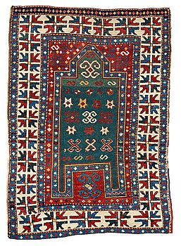 207. A RUG, an antique Fachralo Kazak, ca 149 x 104,5 cm.