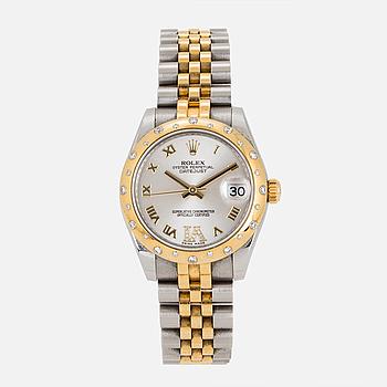 ROLEX, Oyster Perpetual, Datejust, Chronometer, armbandsur, 31 mm.