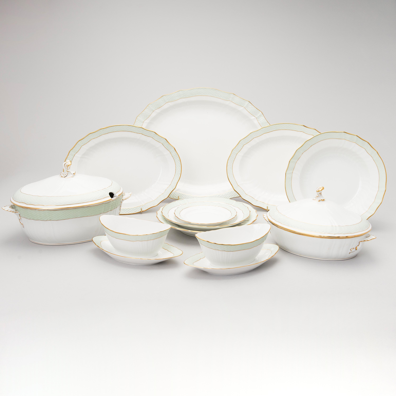 11115688 bukobject & A 49-piece set of Royal Copenhagen dinnerware Denmark 1949-1952 ...