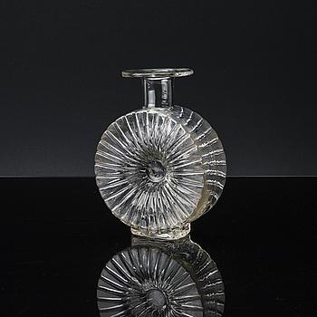 "HELENA TYNELL, vas, glas, ""Aurinkopullo"" (Solflaskan), Riihimäen Lasi, 1900-talets andra hälft."