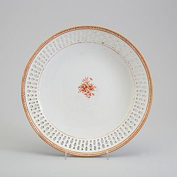 FAT, kompaniporslin. Qingdynastin, Jiaqing (1796-1820).