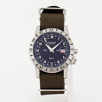 GLYCINE, Airman, DC-4, wristwatch, 42 mm.