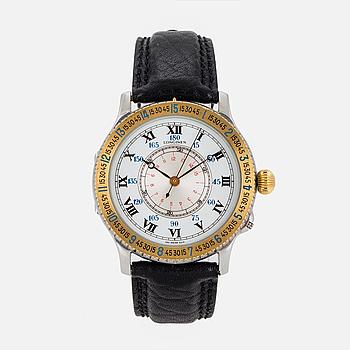 LONGINES, Hour Angle Watch, designad av Charles Lindbergh, armbandsur, 38 mm.