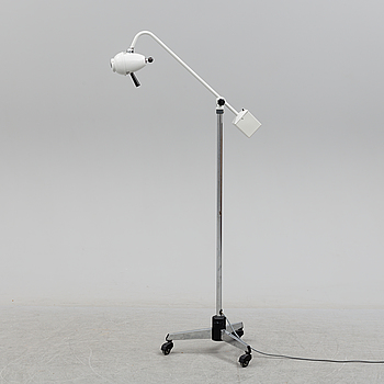 A FLOOR LAMP, Mach, probably 1960s / 70s.