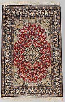 MATTA, Old Isfahan, part silk, ca 165 x 108 cm.