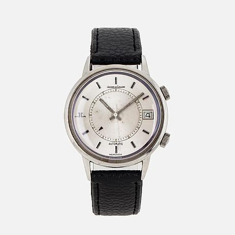 Jaeger-lecoultre, memovox, wristwatch, 37 mm,