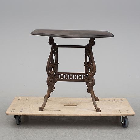 TrÄdgÅrdsbord, sent 1800 tal