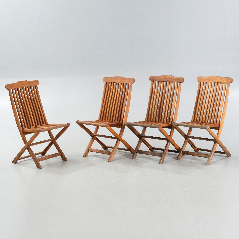 Four 21th century garden chairs by Scandinavian Design Jutlandia ...