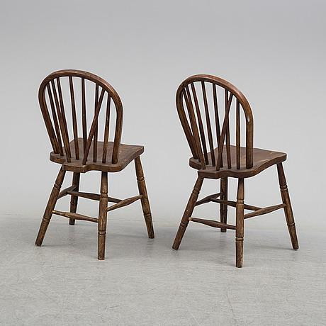 Stolar, ett par, 1900 talets första hälft
